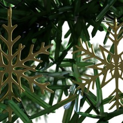 Download free 3D printing designs Snowflake Pendant Christmas tree 3D print model, ryanmaicol