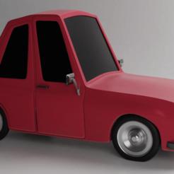 Imprimir en 3D CARTOON CAR 3D MODEL, ryanmaicol