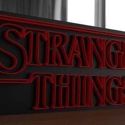 render 03.jpg Télécharger fichier STL Des choses plus étranges Modèle d'impression 3D • Objet pour impression 3D, ryanmaicol