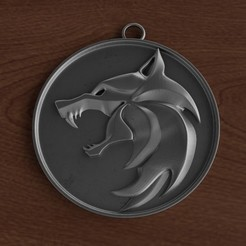 Download 3D printing files The Witcher medallion, ryanmaicol