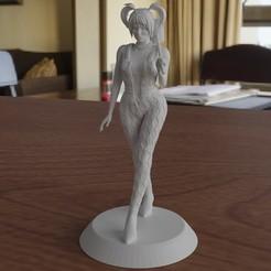 render.jpg Télécharger fichier STL Oiseau de proie - Harley Quinn • Plan à imprimer en 3D, ryanmaicol