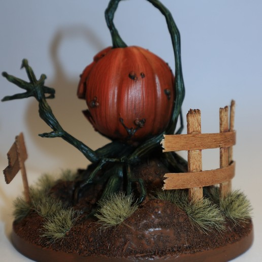 IMG_0742.JPG Download STL file Deamon Pumpkin • 3D printable design, david_ge