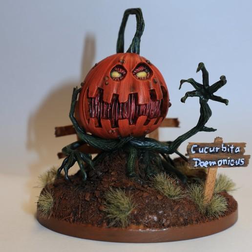 IMG_0739.JPG Download STL file Deamon Pumpkin • 3D printable design, david_ge