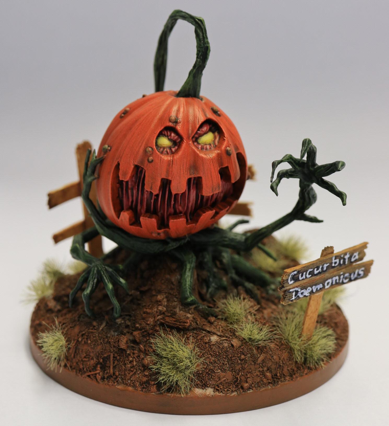 IMG_0746.JPG Download STL file Deamon Pumpkin • 3D printable design, david_ge