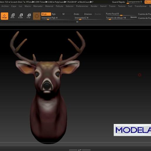 dfhf.jpg Télécharger fichier STL gratuit VENADO • Objet pour imprimante 3D, MODELADO_3D