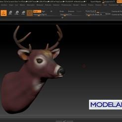 Download free STL file VENADO • 3D print design, MODELADO_3D