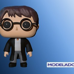 Download STL files FUNKO HARRY POTTER, MODELADO_3D