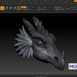 Download free 3D printer designs DRAGON, MODELADO_3D