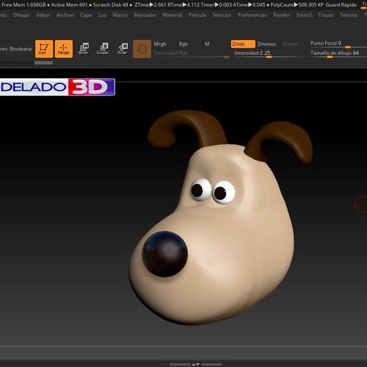 Sin título-1.jpg Télécharger fichier STL gratuit GROMIT • Modèle imprimable en 3D, MODELADO_3D