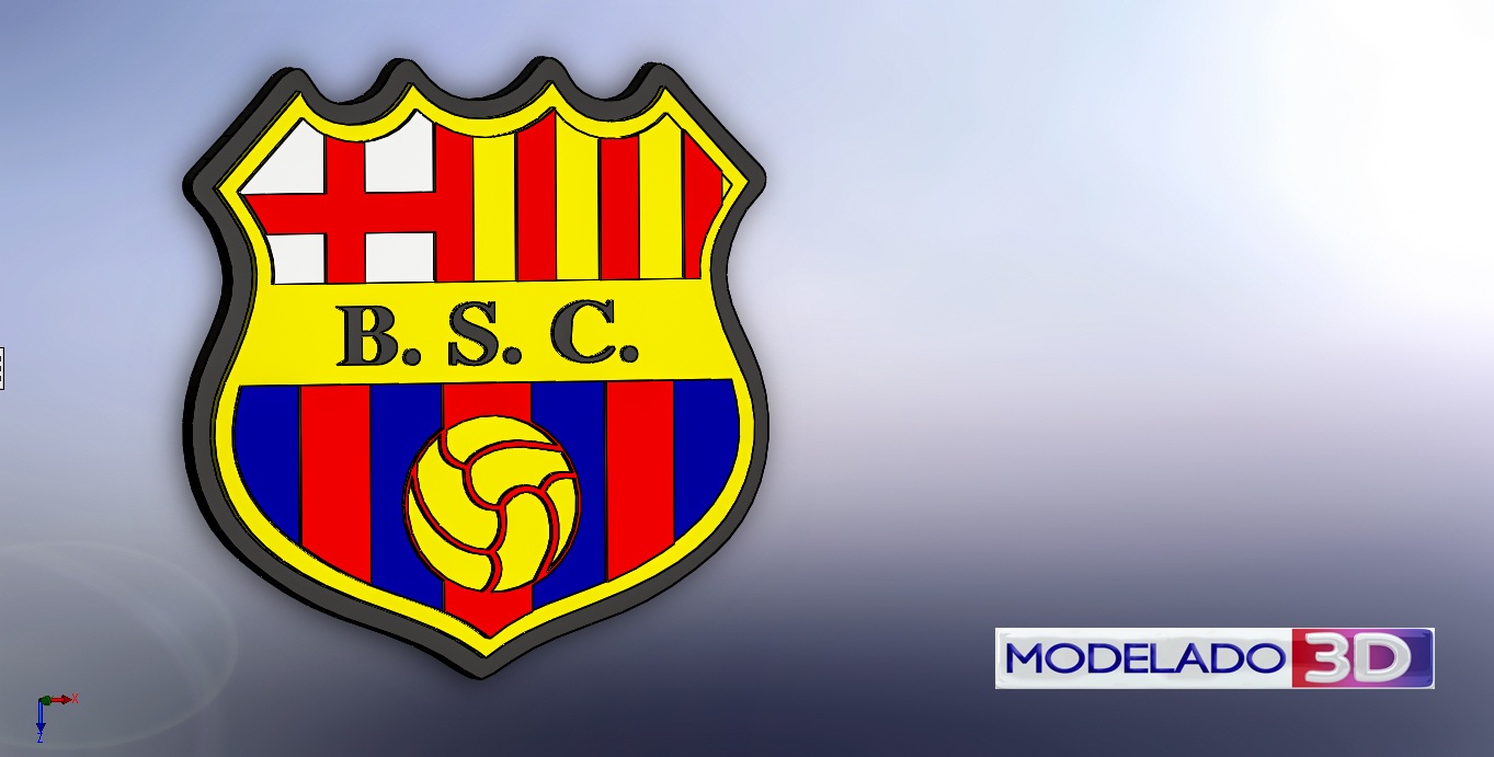 Download Free Stl File Barcelona Sc Design To 3d Print Cults