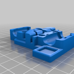 Download free STL file X carriage prusa i3 - 2 bearings • Object to 3D print, didrod