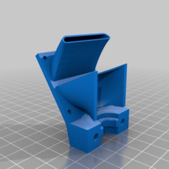 0b5c8dc82b4404af79fb331c4d8bcb56.png Download free STL file mount & fan e3d V6 official or clone • Design to 3D print, didrod