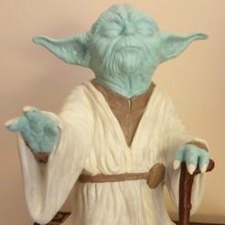 Descargar archivos STL gratis Yoda HD StarWars, sglug