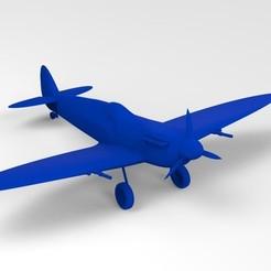 Descargar diseños 3D Supermarine Spitfire MkVb 3D Print, uzzy3d