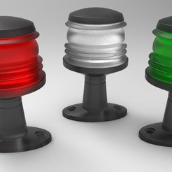 Download free 3D model Free Nurbs Navigation Light, magician_uzzy