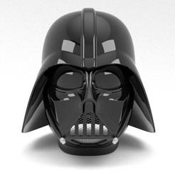 Impresiones 3D Casco Nurbs Darth Vader para impresión en 3D, uzzy3d