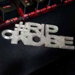 Download free STL file Rip Kobe key chain • Model to 3D print, pad-lee