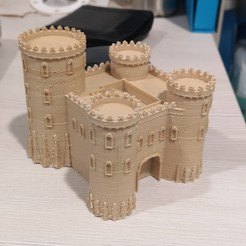 Byz.jpg Download OBJ file Byzantine castle - Age of Empires II • Template to 3D print, 3vprint