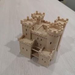 Télécharger fichier impression 3D Château Teutonique - Age des Empires II, 3vprint