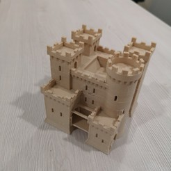 Print1.jpg Download OBJ file Teutonic castle - Age of Empires II • Design to 3D print, 3vprint