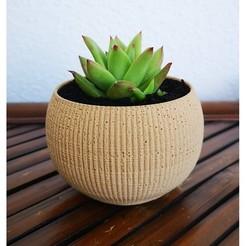 Landy_vase_striped_4.jpg Download STL file Landy vase - Striped 4 • 3D printer template, 3vprint