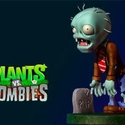 Download 3D printer designs 01 Plants vs Zombies, FanArt, Luises27