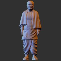 Descargar archivo 3D Sardar Patel, NEERAJ