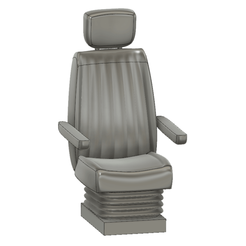 Descargar Modelos 3D para imprimir gratis Asiento de camión Tamiya 1/14, bricodx