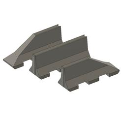 Descargar archivos STL gratis Dispositivo de barrera de autopista DBA 2m 1:14, bricodx