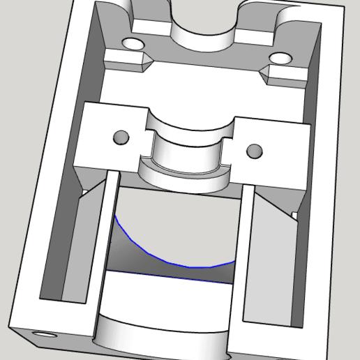 support.png Télécharger fichier STL gratuit E3D sur DAVINCI AIO • Objet pour imprimante 3D, bricodx