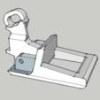 Télécharger plan imprimante 3D gatuit Poignée renault espace 2, bricodx