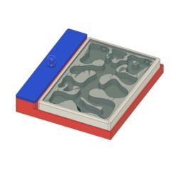 Impresiones 3D gratis Nido de hormigas 17x14 FOURMIS51, bricodx