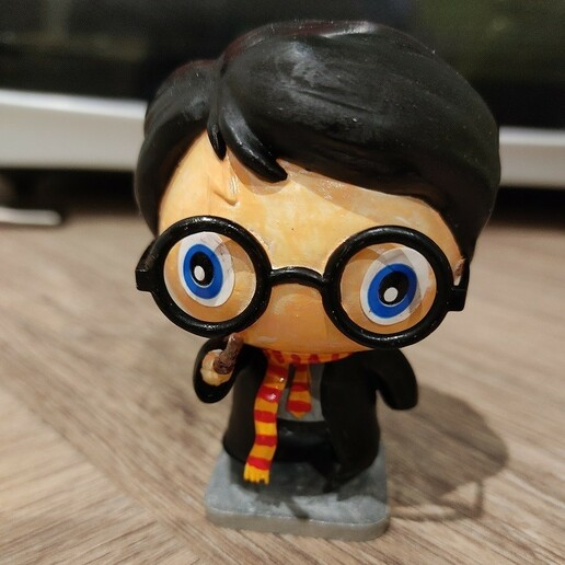Download free STL file Harry Potter! • 3D printer model, bricodx