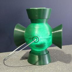 Download 3D model Green Lantern Hal Jordan Inspired Power Battery, BillythebrickCosplay
