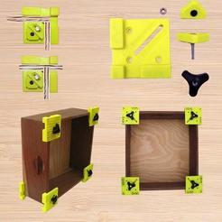 Download 3D printer templates BoxClamp Woodpeckers like, reflexpnt