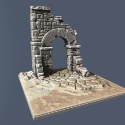 ARCADA_FINAL.png Télécharger fichier STL Arc brisé • Modèle imprimable en 3D, reflexpnt