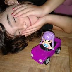 20190214_215242.jpg Download STL file Sport Car to Piny & Pon dolls • 3D print template, reflexpnt