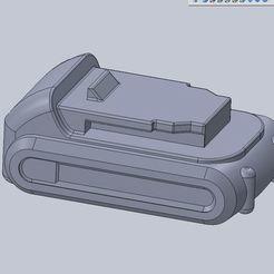 Download free 3D print files Dewalt DCB201-B3 20v 1.5Ah Ion Litio Battery (Approximate volume model), reflexpnt