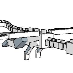 Télécharger fichier STL Dragon de la fin - Minecraft • Design pour impression 3D, 12345678gabi0