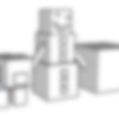 Download free STL file pig and snow golem • 3D print template, 12345678gabi0