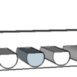 Télécharger fichier STL gratuit porte-brosse à dents ou autres ustensiles de toilette • Modèle pour impression 3D, 12345678gabi0