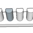 Download free STL file toothbrush holder or other bathroom utensils • 3D printing model, 12345678gabi0