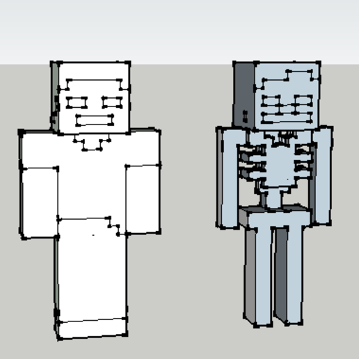 Anotación a2019-11-02 165429.png Download free STL file steve and a minecraft skeleton • 3D print design, 12345678gabi0
