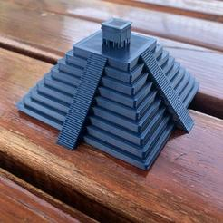WhatsApp Image 2020-05-17 at 10.30.22.jpeg Download STL file Mesoamerican Pyramid • Template to 3D print, MTL