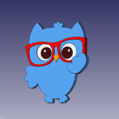 BUHO FOTO.png Download STL file Owl Tutor • 3D print model, almazansanti