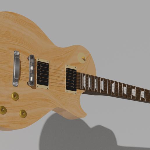 Download 3D printer files Gibson Les Paul Guitar, almazansanti