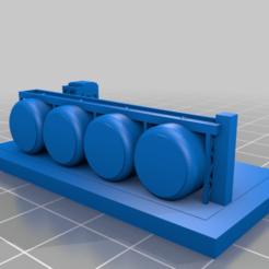 20201213.png Télécharger fichier STL gratuit GreebleCity : Dépôt de gaz • Objet à imprimer en 3D, Fisk400