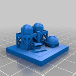 20201219.png Télécharger fichier STL gratuit GreebleCity Industry : Dépôt de gaz naturel • Objet pour impression 3D, Fisk400
