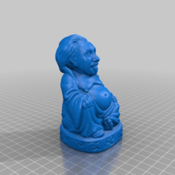 Descargar Modelos 3D para imprimir gratis Buda de Einstein, Fisk400