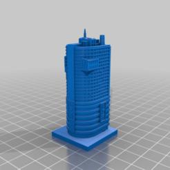 20201212.png Télécharger fichier STL gratuit GreebleCity Cyberpunk : Bâtiment du marketing de Gecorp • Plan pour impression 3D, Fisk400